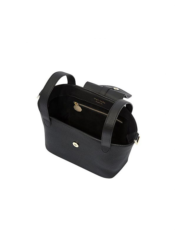 PRINCESSA – Black MeliMelo Black Thela Mini Cross Body Bag – 04
