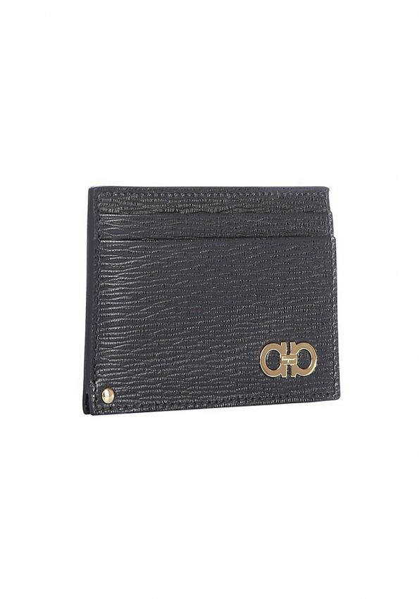 PRINCESSA – Black Salvatorre Ferragamo Gancini Card Holder – 02