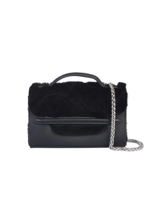 PRINCESSA – Black Zanellato Nina Superbaby Bag – 03