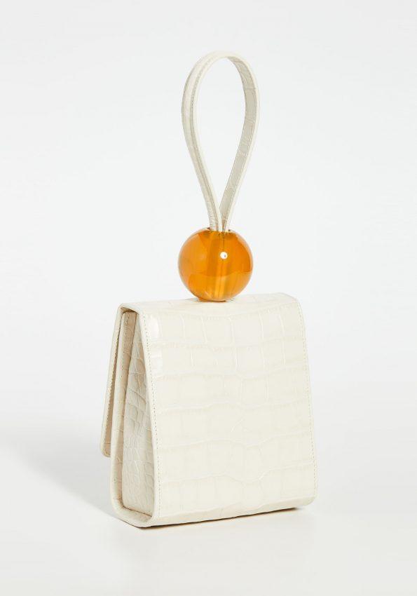 PRINCESSA – Cream Byfar Ball Bag – 03