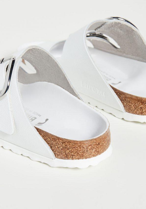PRINCESSA-White Birkenstock Arizona Big Buckle Sandals – Narrow-03