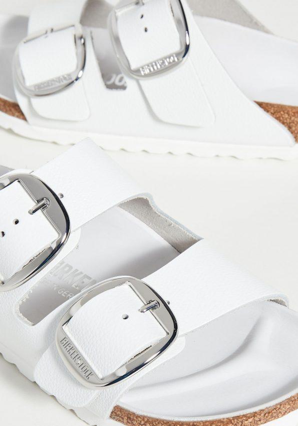 PRINCESSA-White Birkenstock Arizona Big Buckle Sandals – Narrow-04
